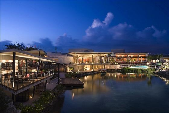 Evening at Rosewood Mayakoba