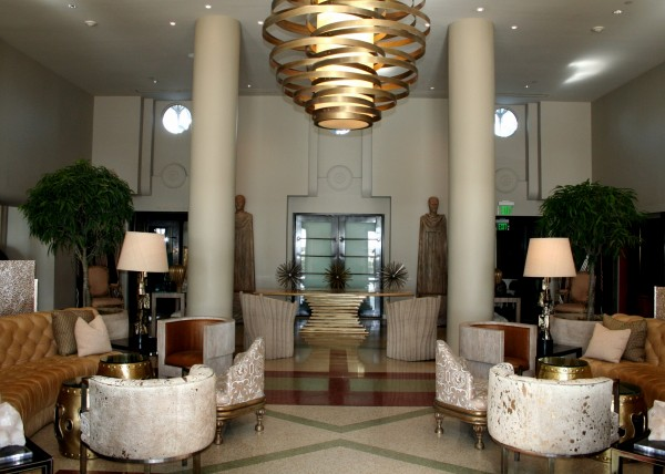 Lobby at The Tides