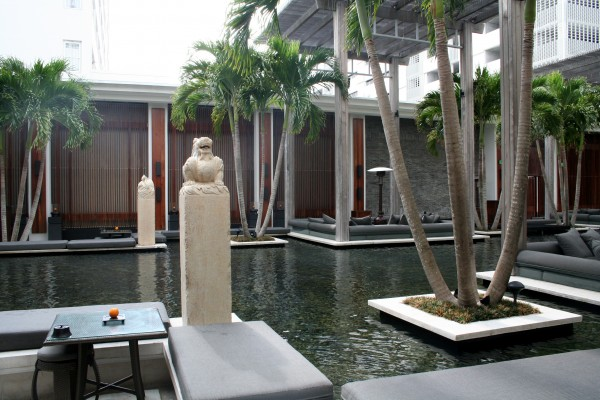 Courtyard at The Setai