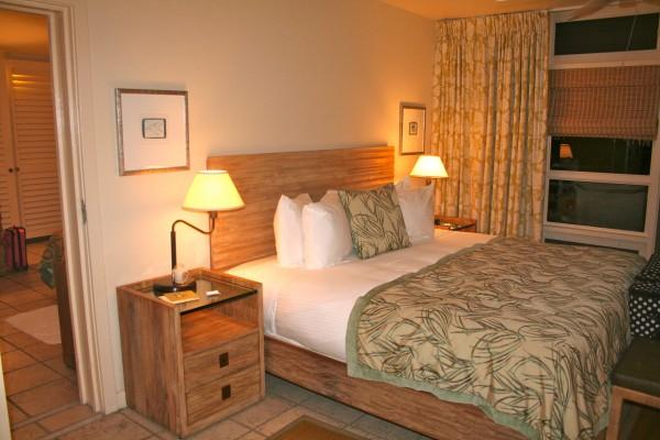 Oceanview room at Caneel Bay