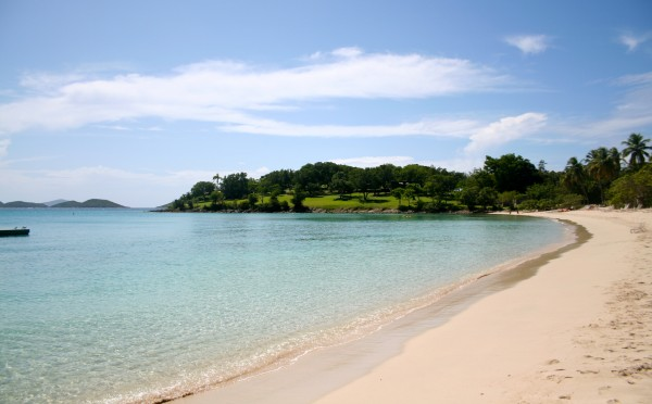 Just one of the many beautiful beaches at Caneel Bay
