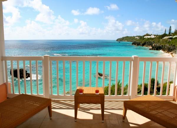 Jr. Suite balcony view