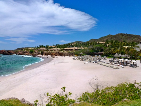Beach at Four Seasons Punta Mita