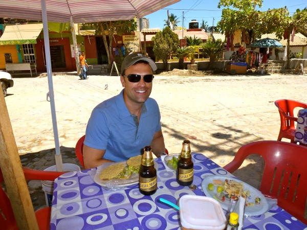 Authentic Mexican cuisine can be found at many roadside stands in Sayulita