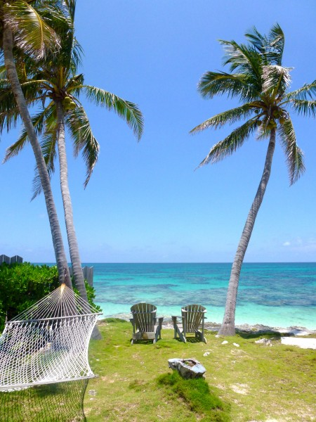 Memorable view from my backyard on Elbow Cay