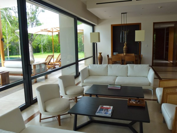 Villa interior at Amanyara