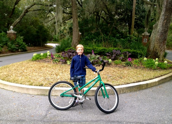 Biking is a favorite activity on Kiawah
