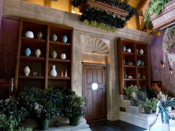 Apothecary Portal at Spa Botanica