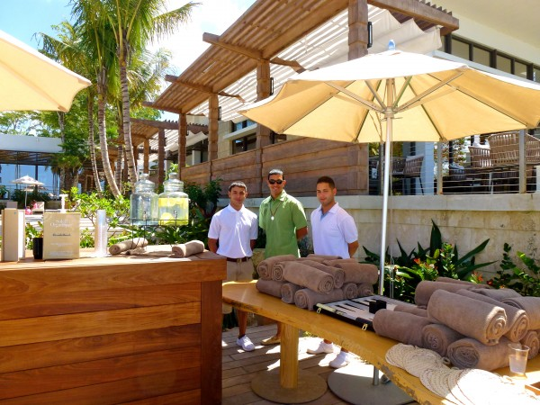 Pool staff at Dorado Beach, A Ritz Carlton Reserve