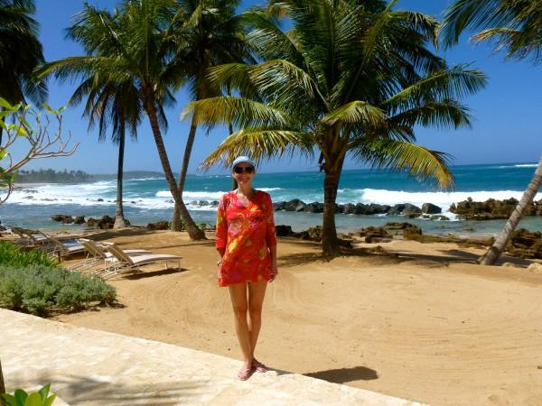 Enjoying my last day at Dorado Beach, A Ritz Carlton Reserve