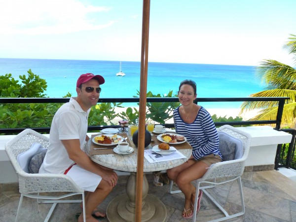 Breakfast at La Samanna, St. Martin