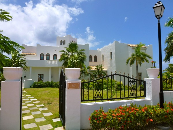 One of the new villas at La Samanna