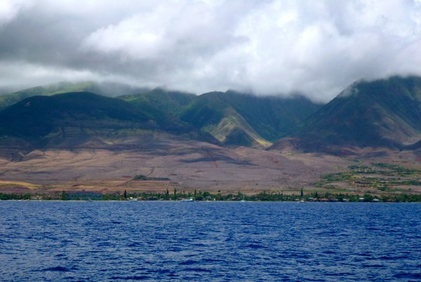 View of Maui from the ferry