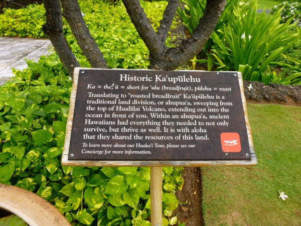 Hawaiian history is a big focus at Four Seasons Hualalai