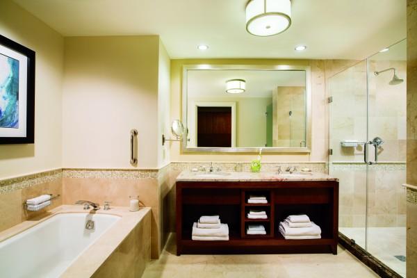 Bathroom at Ritz-Carlton Aruba