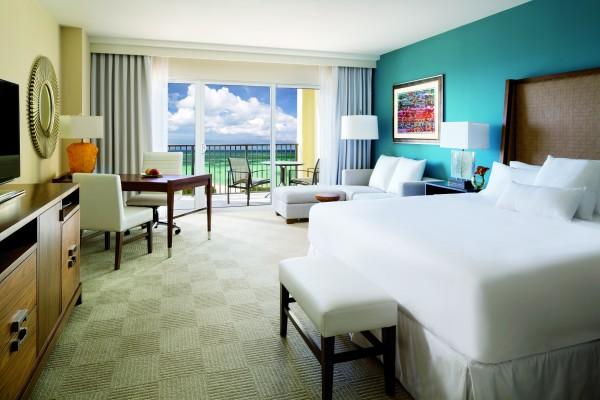 Oceanfront Room at the Ritz-Carlton Aruba