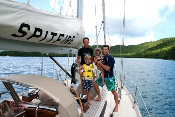 Sailing excursion on St. John