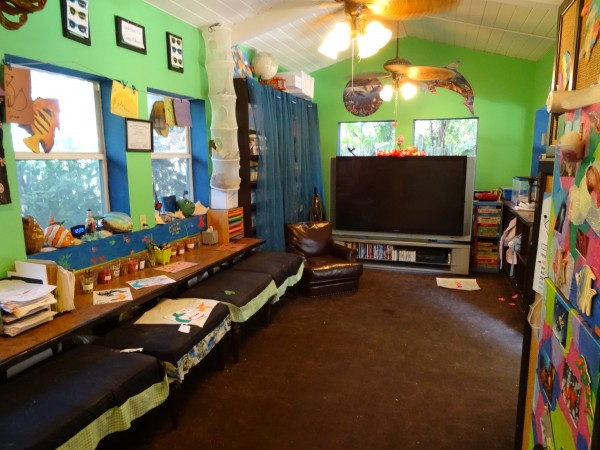Camp Cheeca interior