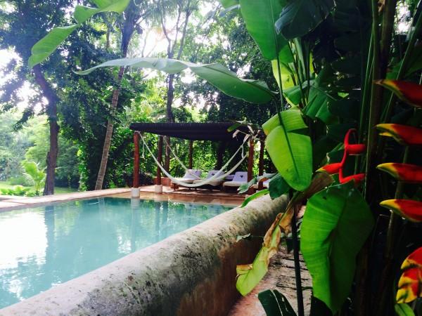 Pool at Hacienda Petac