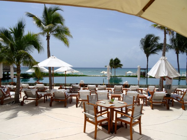 Outdoor dining - Grand Velas Riviera Maya