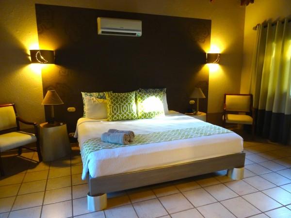 Master bedroom in 2 Bedroom villa at Cala Luna
