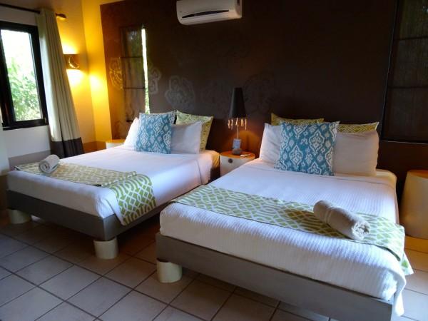 Second bedroom, 2 bedroom villa at Cala Luna