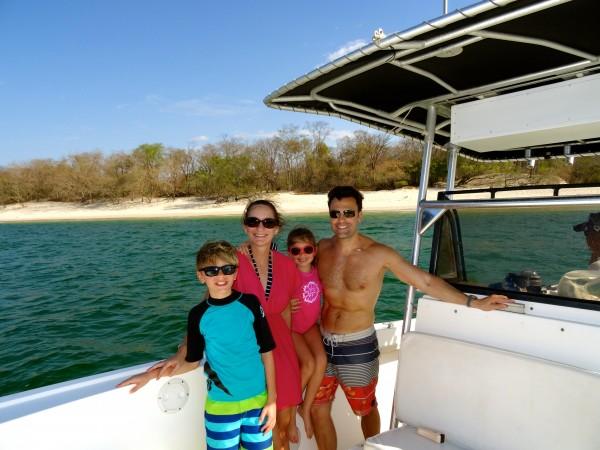 Private boat excursion, Tamarindo