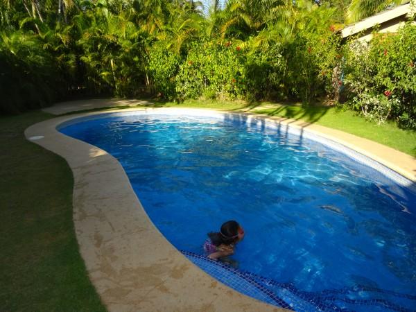 Luxury villa private pool at Cala Luna
