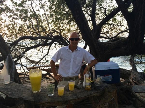 Cala Luna beach bar
