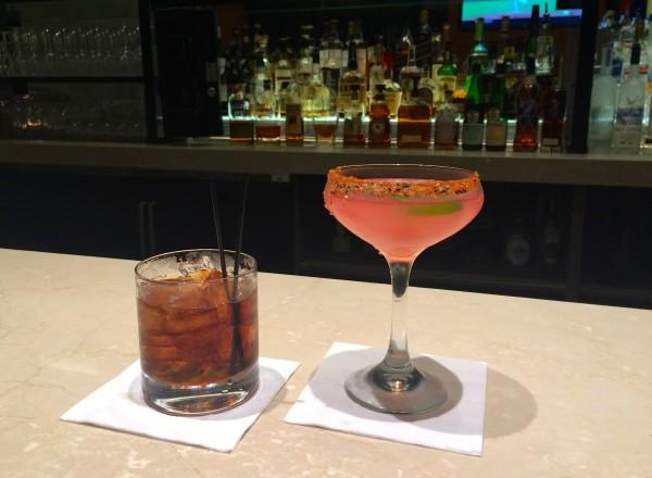 Drinks at the Four Seasons Orlando bar