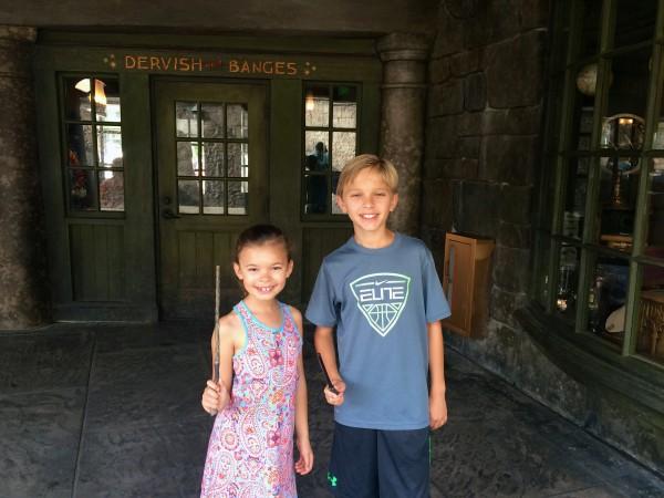 Harry Potter wands at Hogsmeade, Universal Studios