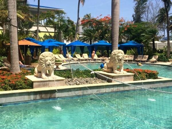 Ritz Carlton San Juan pool