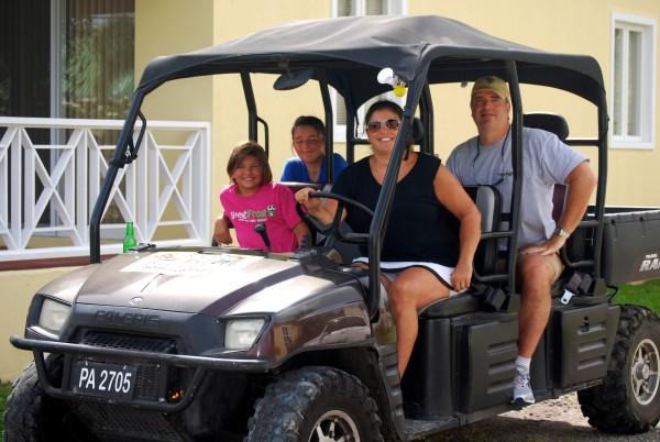 ATV tour Nevis
