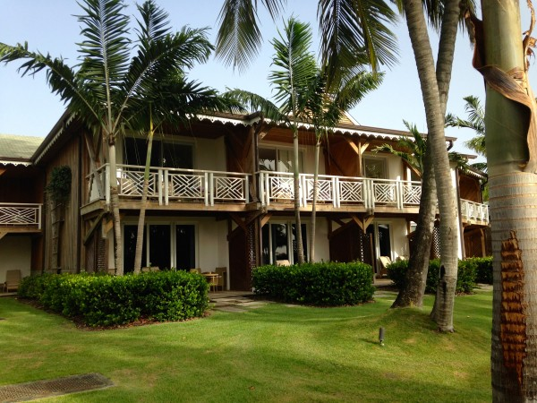 Exterior view of accommodations at the Four Seasons Nevis