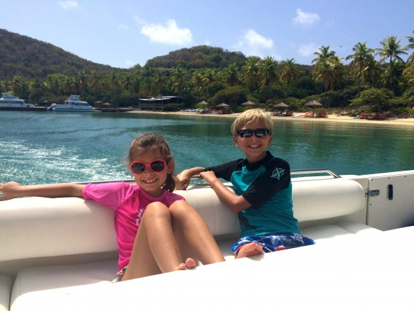 Private boat excursion in the British Virgin Islands