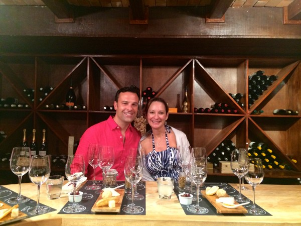 Wine tasting, Cap Maison, St. Lucia