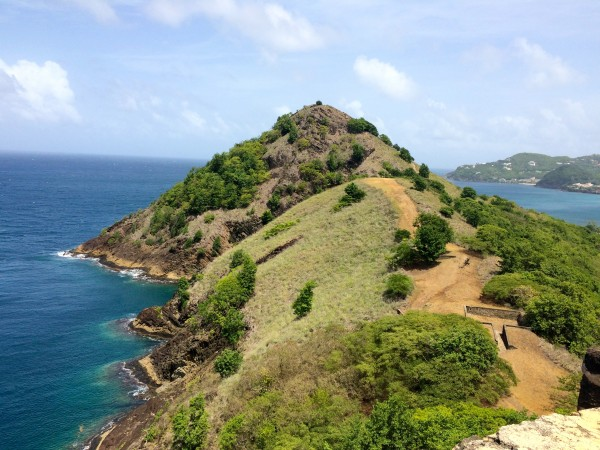 Beautiful view at Pigeon Island