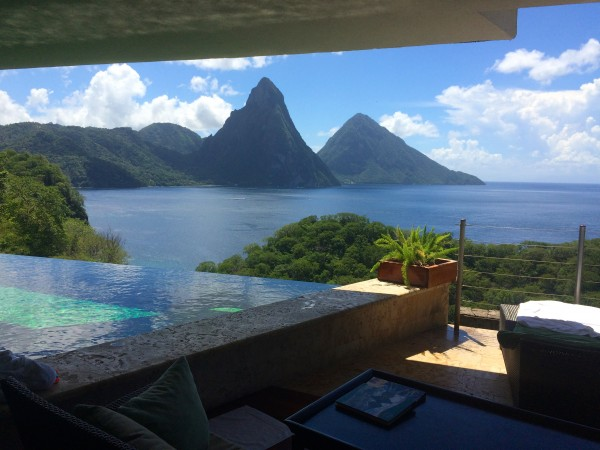 Jade Mountain suite