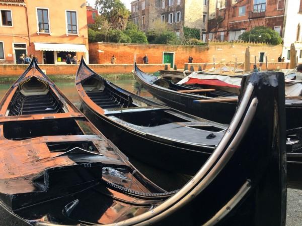 Visiting a local squero in Venice