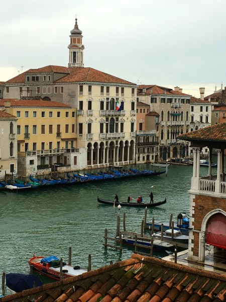 View of Grand Canal, Hotel L'Orologio
