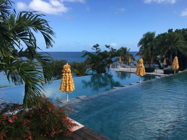 The pool at Malliouhana
