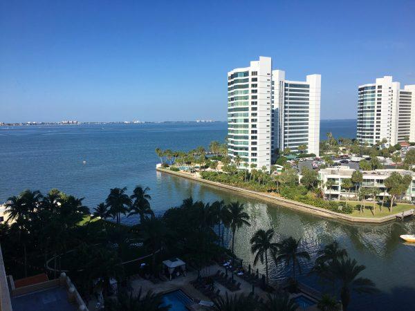 Club Level view at the Ritz Carlton Sarasota