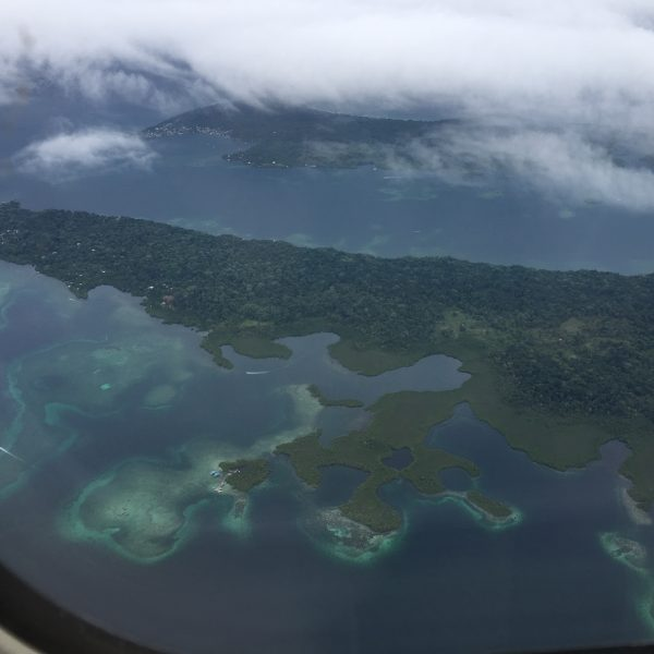 Bocas del Toro viewed from my plane ride