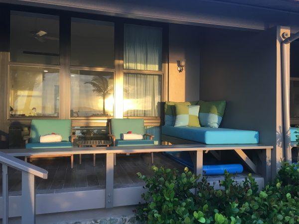 My patio - Premium Beachfront Room