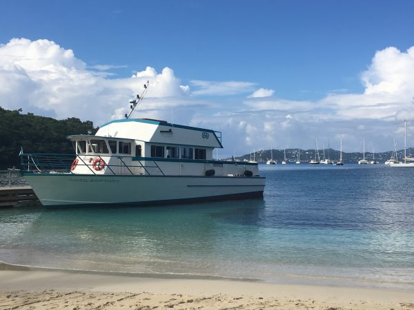 Caneel Bay ferry boat