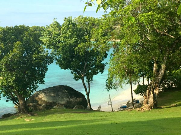 One of Caneel Bay's many beautiful beaches