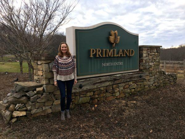 Primland's North Gate entrance