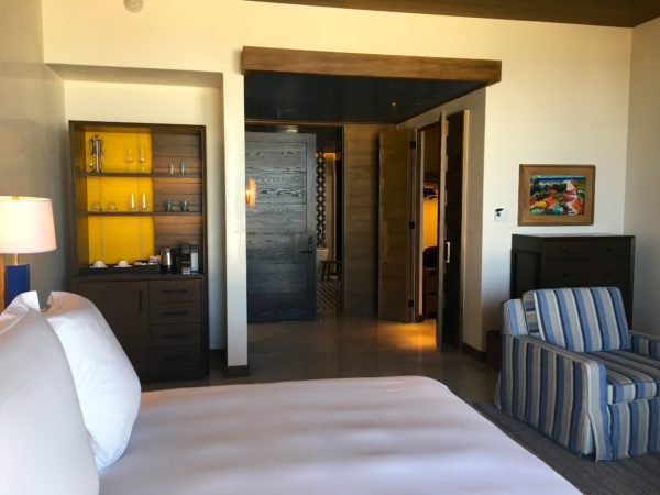 Oceanview room at Chileno Bay