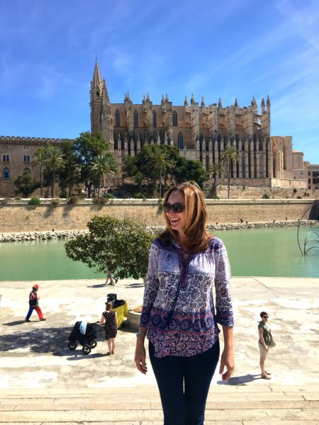 Sight-seeing in Palma, Mallorca