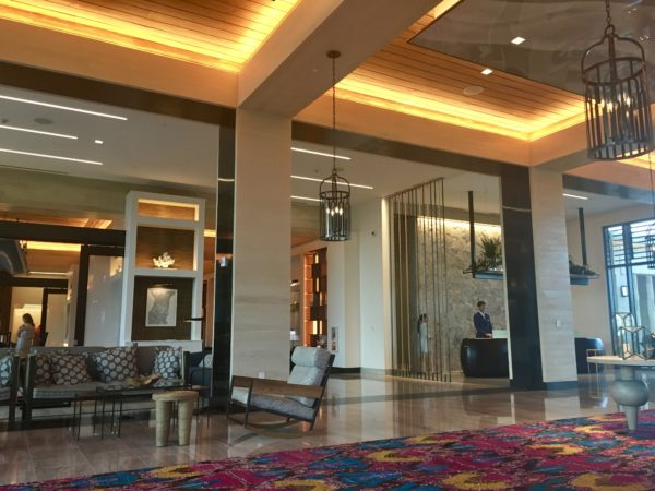 Kimpton Seafire lobby